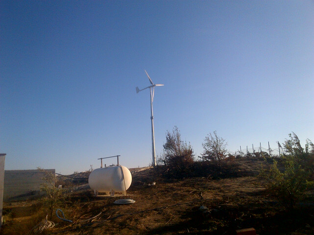 2KW SW wind turbine in Greece