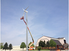 Brazil 30kw 2sets wind turbine