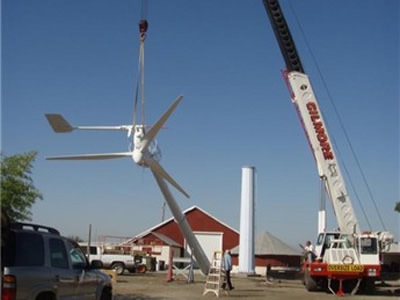 SW-20kw wind turbine at Ukraine small wind turbine-senwei
