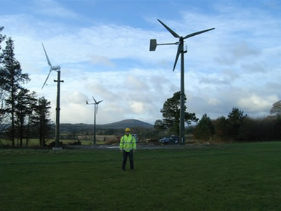 Small wind farm [3Kw, 5Kw tailless and 10Kw] in Ireland